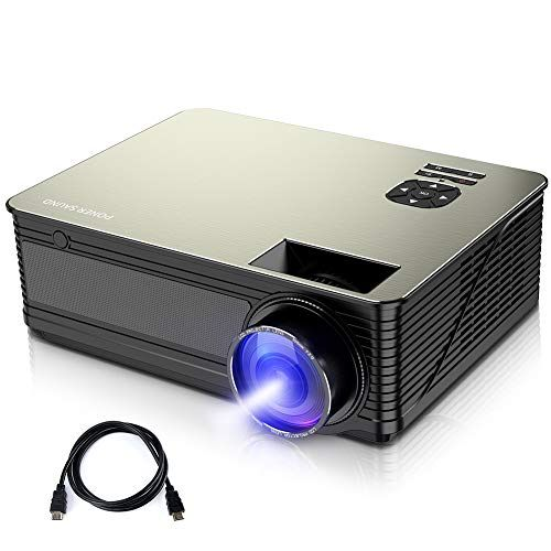 Poner Saund Hd Projector M5 3800 Lumens Home Theater Projector With 50000 Hrs Led Lamp Life Outdoor Movie Project Business Projector Best Projector Projector