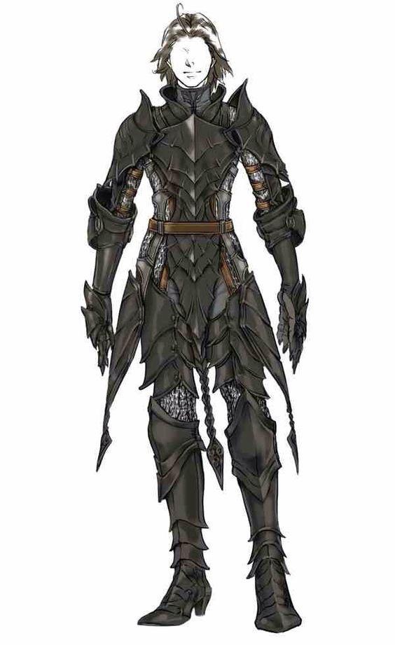 Skyrim Character Design Ideas : Dragon armor