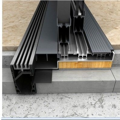 The R 47 Threshold Drain Has Been Meticulously Created With Precision And Function In Mind It S Not Just Architecture Details Door Design Architecture Design