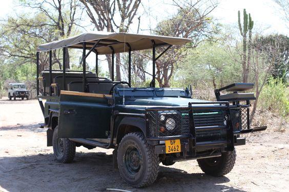 Safari Jeep Wildernesssafaris Jeep Malawi Africa Mvuu