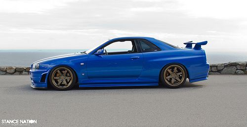 One Of The Newer Cars That Will Appear In My Dream Car Garage The 2001  Nissan Skyline GT R Is A Legend In Itu0027s Own Right! Iu0027d Want One In Bayside  Blue, ...