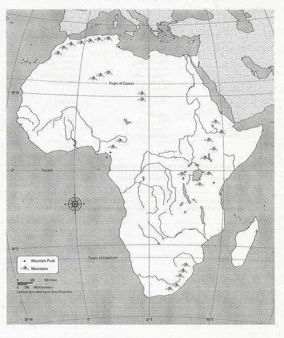 Tags Africa and Maps on Pinterest