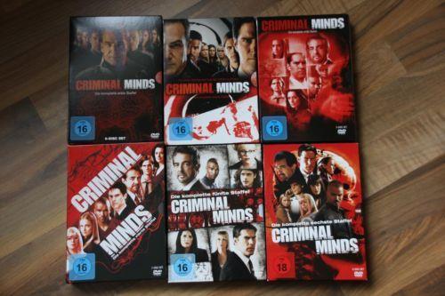 Hallo, ich verkaufe meine Criminal Minds DVDs Staffel 1-6nie geguckt und deshalb wie neuBei Fragen bitte melden :)