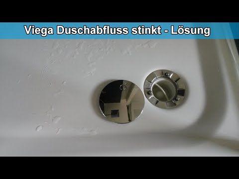 Viega Duschablauf Mit Viga Tauchrohr Stinkt Geruchsverschluss Undicht Was Tun Losung Youtube Dusche Duschabfluss Duschablauf