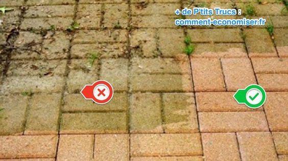 2 Astuces Pour Enlever La Mousse Sur La Terrasse Revelees Par Un Jardinier Nettoyer Terrasse Nettoyage Terrasse Terrasse