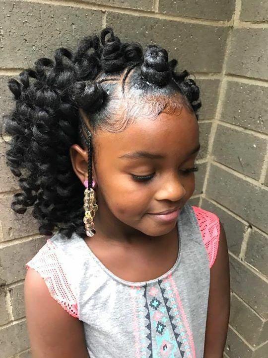 Curlyblackhairstyles Lil Girl Hairstyles Little Girl Braids