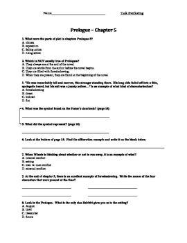 Tuck Everlasting 5-paragraph essay question?