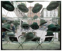 Luigi Ghirri  Parma  From the series Il profilo delle nuvole  1985  Cibachrome  15 3/4 x 20 1/8 inches; 40 x 51 cm