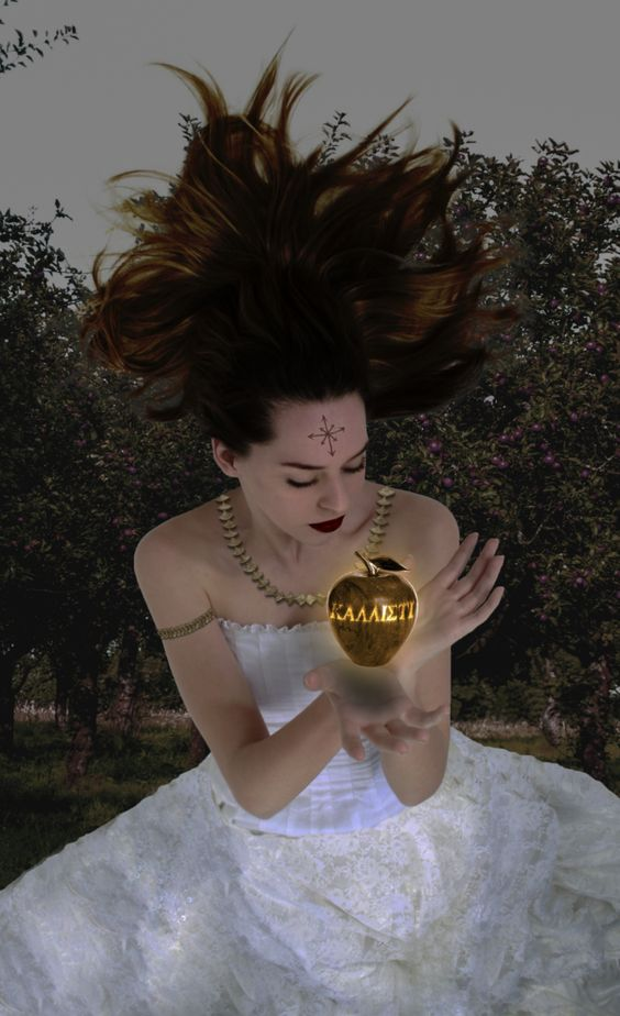 ERIS: The Greek goddess of chaos, strife and discord ...