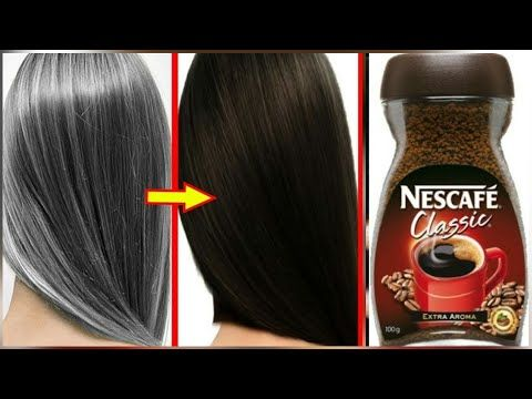 White Hair To Black Hair Naturally In Just 5 Minutes Permanently 100 Works S C Youtube Black Hair Dye Coffee Hair Gold Brown Hair