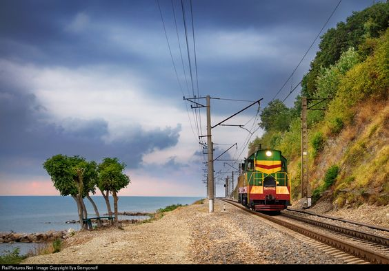 RailPictures.Net Photo: Russian Railways ChME3 at Sochi, Krasnodar region, Russia by Ilya Semyonoff