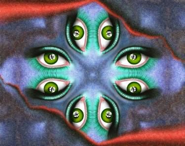 Abstract digital art - Guardinetto V3
