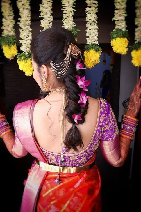99 Fashionable Bridal Hairstyles Ideas For Long Short Hair To Inspire Bridal Hair Buns Wedding Hairstyles For Long Hair South Indian Wedding Hairstyles