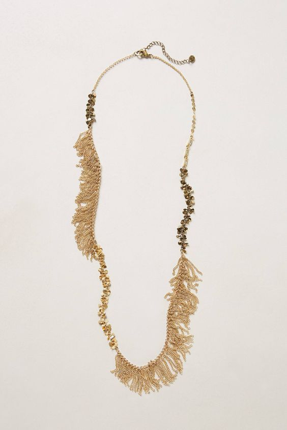 Saudades Fringe Necklace - anthropologie.com  #statementnecklace #saudades #fringe #necklace #anthropologie #boldaccessories