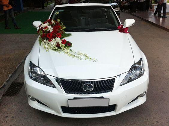Trang trí xe hoa cưới một cách đơn giản nhưng vẫn toát lên vẻ sang trọng #trangtrixehoacuoi #trangtritieccuoi