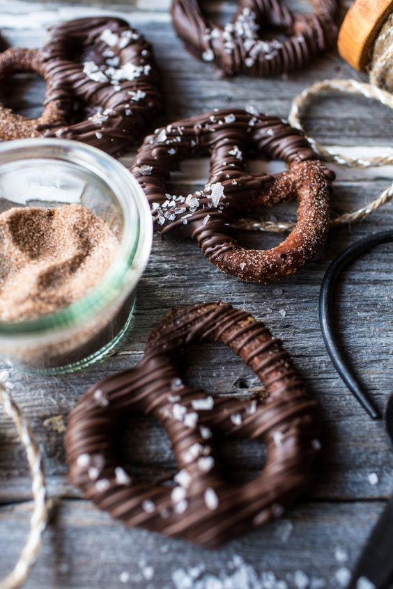 ... Sugar Pretzels | Cinnamon Sugar Pretzels, Pretzels and Chocolate