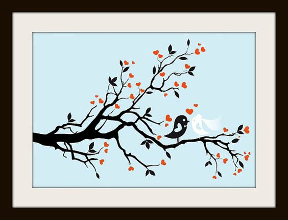 Wedding Birds Cross Stitch Pattern Wedding by LosAngelesNeedlework, $4.47