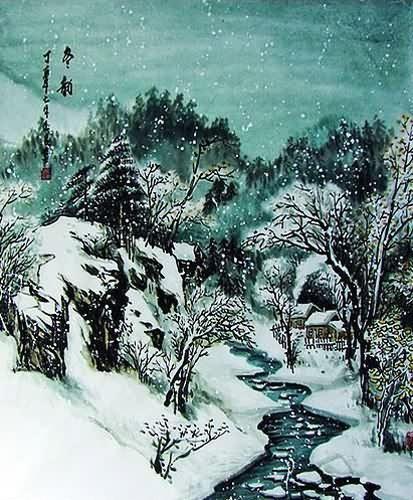 la neve...