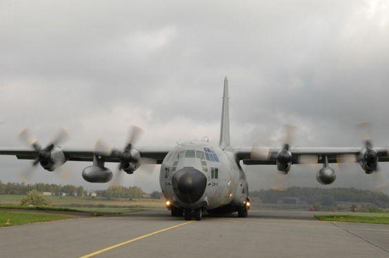 Belgian Air Force Lockheed C-130H Hercules.