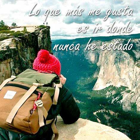 Lo mejor de viajar es estar en lugares que nunca antes has visitado. #FrasesDeViajeCostamar