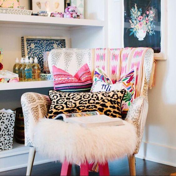 Chair styling, via @furbishstudio