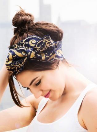 Betty Jane III,  Accessory, hair wrap  headbands  hair  bow, Bohemian (Boho) / Hippie