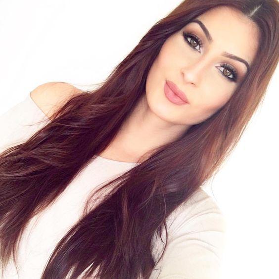 Bonne nuit mes Lufies  demain je vous filme une nouvelle vidéo ☺️ et ma video contouring est dans ma bio  je pense fort à vous love you  (Yeux: lorac pro - lèvres : crayon 11 nude Essence) #makeup #muotd #longhair #longhairdontcare #belgianyoutuber #influencer #youtubeusebelge