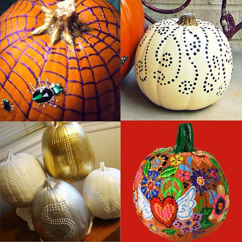 iLoveToCreate Blog: Puffy Paint Pumpkin Painting Ideas