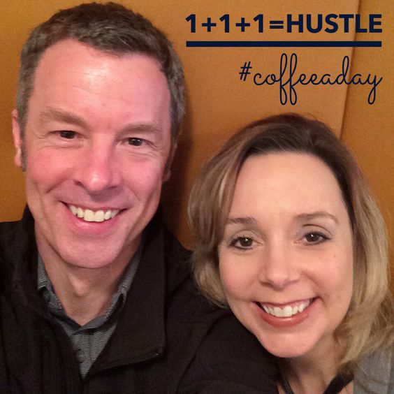 Today Lesle Lane and I talked about how Small Business Owners hustle for My CoffeeADay Initiative: 1 Coffee, 1 Person, Every Day.   http://coffeeaday.net/post/113929198281/today-lesle-lane-and-i-talked-about-how-small