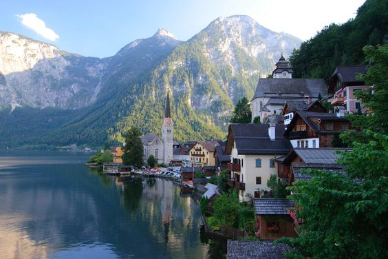 Salzbourg, Autriche  | Hallstatt, Austria | Beautiful Places to Visit