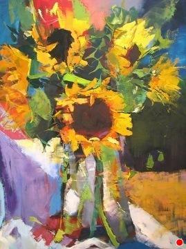 Radiance by Ann Watcher Oil ~ 48 x 36