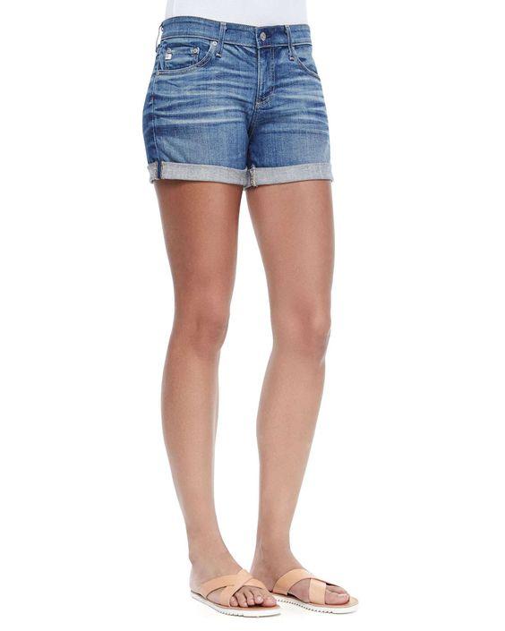 Haley Ex-Boyfriend Rolled Shorts