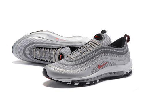 estudiar Despedida Exactitud  NIKE AIR MAX97 灰红勾 40-46 货号:884421-001 | Yupoo | Nike shoes air max, Nike  air max 97, Nike air max