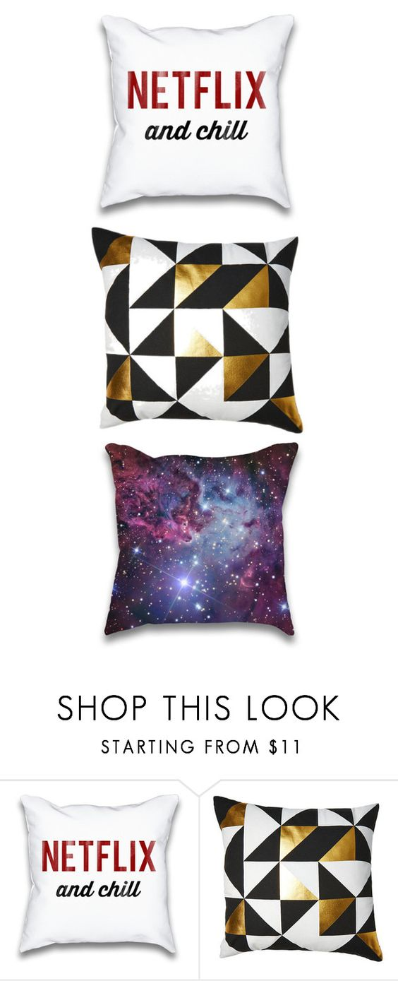 """""""Pillow #6"""" by bella1138 on Polyvore featuring interior, interiors, interior design, home, home decor, interior decorating and EASTON"""