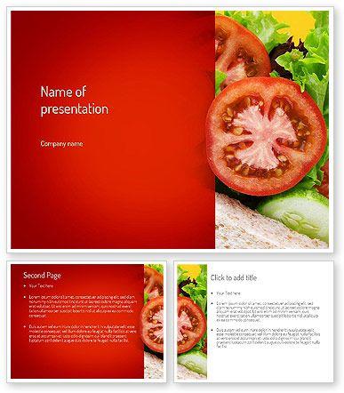 Healthy Sandwich PowerPoint Template http://www.poweredtemplate.com/11149/0/index.html