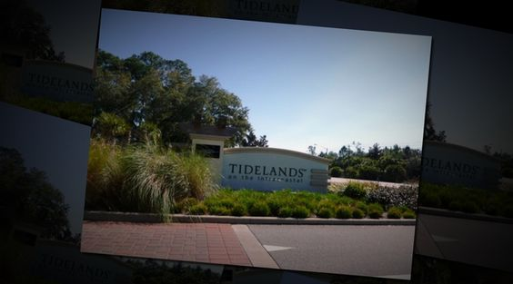 NOT A SHORT SALE! Finally  3 bedroom, 2 bathroom condo for sale in the prestigious gated community of Tidelands. Enjoy dinner on your screened balcony overlooking the water a & enjoy morning sunrises. Inside, entertaining is fun & the granite, cherry kitchen offers ample counter space & a fully equipped kitchen. The owner's suite has sliders that open to the balcony,  & walk in shower. Tennis, 2 pools, gym and miles of walking trails keep you entertained outdoors.