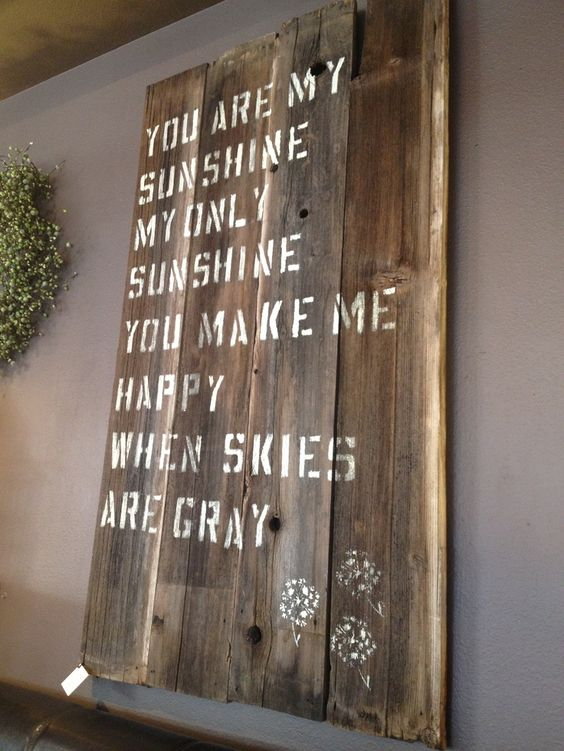 Old fences my love and barn wood on pinterest for Barnwood sign ideas