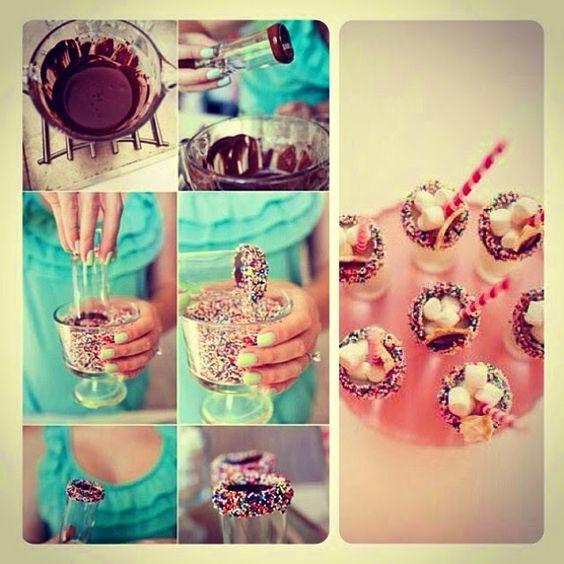 doces ideias para festas