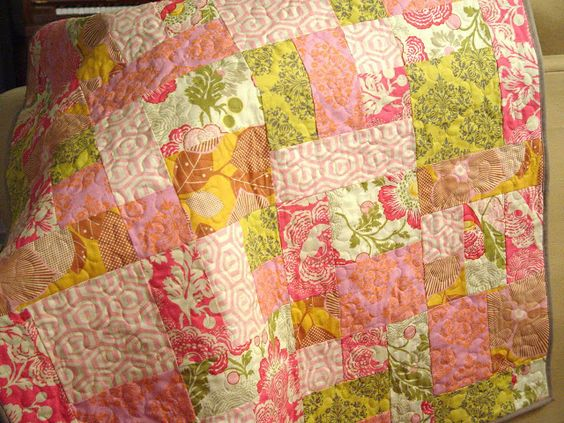 Yellow Brick Road quilt pattern Fabric and Sewing projects Pinterest Quilt, Yellow and Bricks