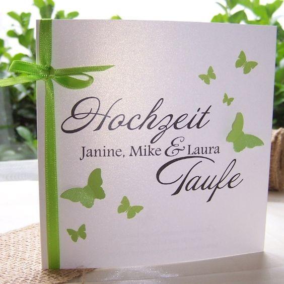 Hochzeit Und Taufe   Einladung Zur Traufe | Einladung Zur Hochzeit,  Kreative Einladungen