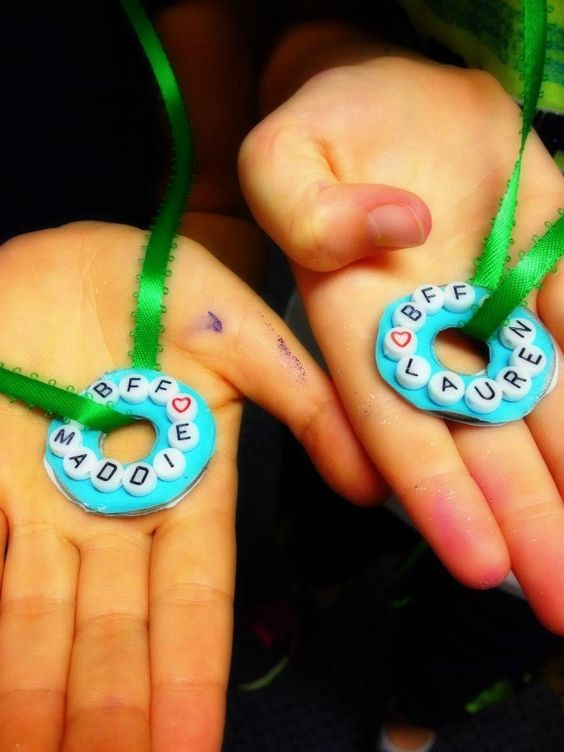Jewelry made with metal washers paper and beads girl scout for Girl scout daisy craft ideas