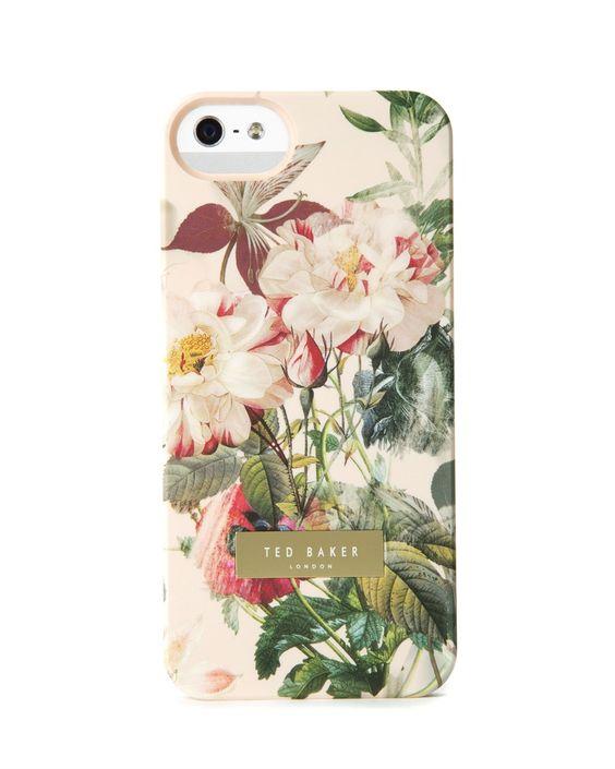pretty! Ted Baker SUSU - Opulent bloom iPhone case