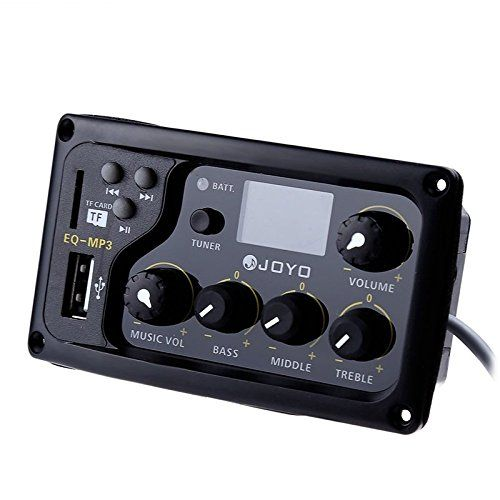Joyo Eq Mp3 Acoustic Guitar Mp3 Equalizer Bass Middle Treble Presence 3 Band To View Further For This Item Visit The Image Link This Is An Joyo Lcd Tuner