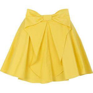 #yellow #skirt