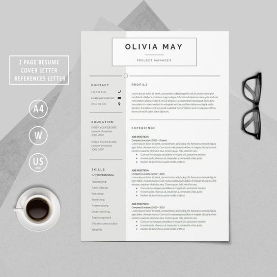 Pin By Melissa Sachi On Banner Design In 2020 Resume Design Resume Template Professional Resume Template