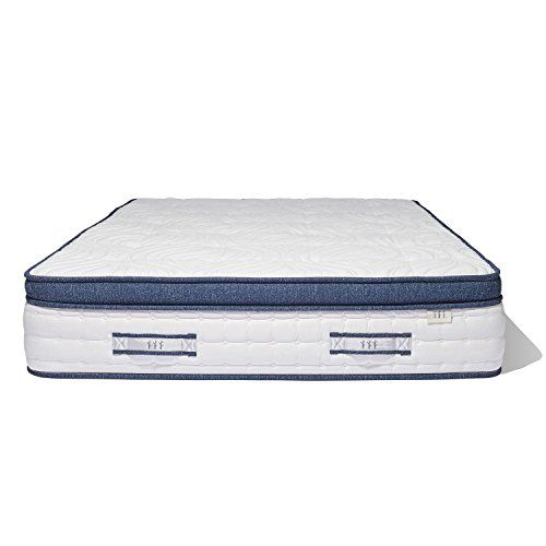 Brentwood Home Oceano Wrapped Innerspring Mattress Made In California King Review Memory Foam Mattress Full Size Memory Foam Mattress Mattress
