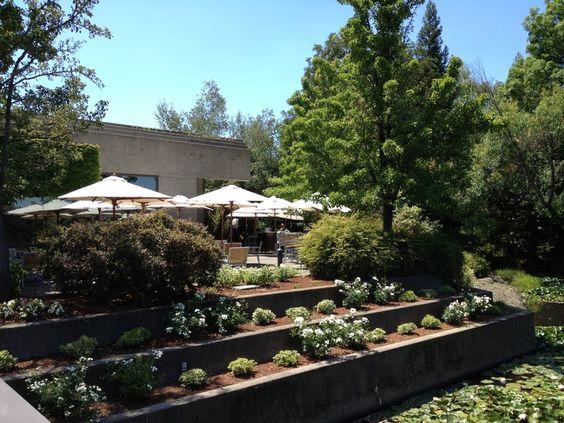 The terrace at J Vineyards, Sonoma