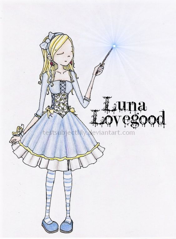 .Luna Lovegood by testsubjectLILY.deviantart.com on @DeviantArt