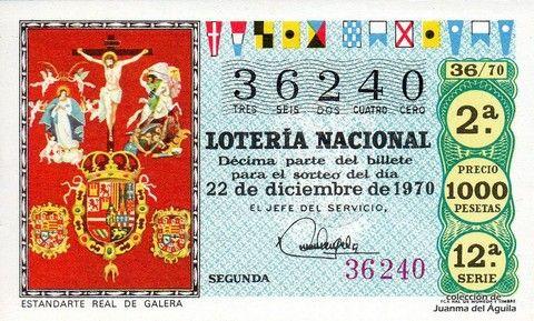 Décimo Del Sorteo Extraordinario De Lotería De Navidad Celebrado El 22 De Diciembre De 1970 Coleccionismo L Lotería Nacional Lotería Mensaje De Motivacion