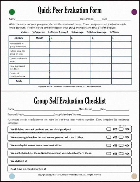 Group And Peer Assessment In Group Work Cooperative Learning 7